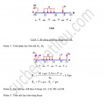 Bài 12 – Trình bày vẽ biểu đồ nội lực theo 2 cách – Sucbenvatlieu.com